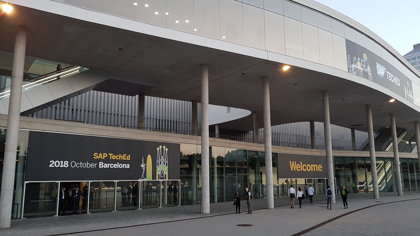 SAP Teched 2018 in Barcelona/Spain