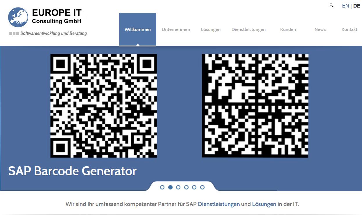 Relaunch der neugestalteten Webseite