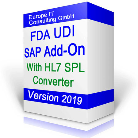 UDI FDA SAP Add-On S/4 HANA ready!