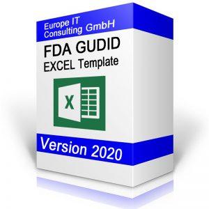 FDA GUDID Excel Template