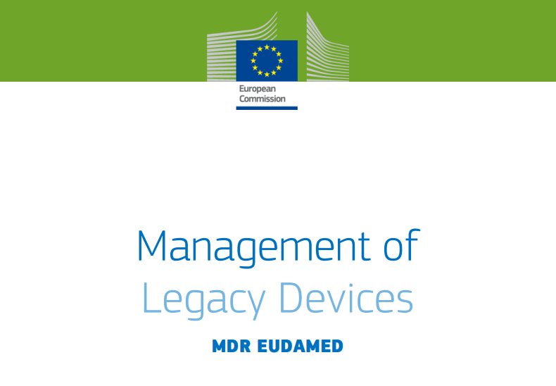 Zusammenfassung: Guidance on the Management of Legacy Devices